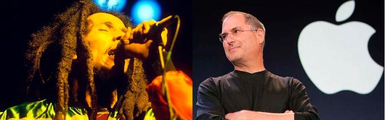 Bob Marley & Steve Jobs